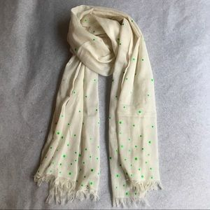 Accessories - Buttery soft year-round dots scarf! 100% cotton!